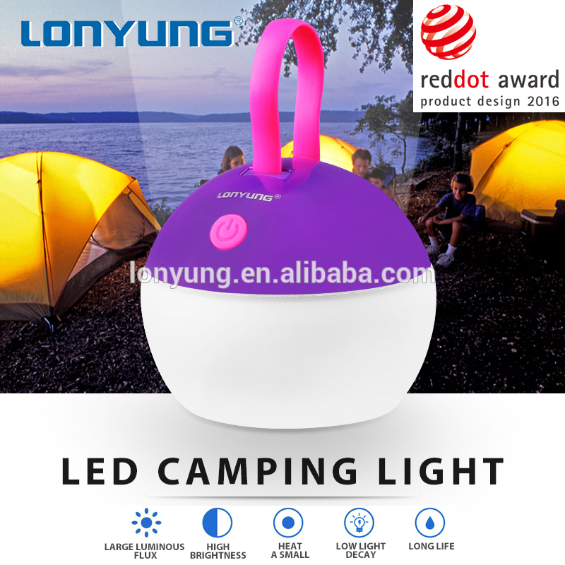 Small led light outdoor led lamp camping USB charger rechargeable 3w