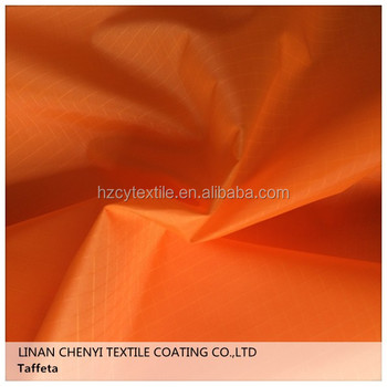 dyed lining Colorful polyester plain taffeta