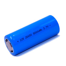 Power Factory 26650 3.7V Flat Head 5000mAh Industrial Packaging Lithium 18650 Li Ion Rechargeable Battery