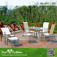 3pcs Sling Fabric Round table and folding chair outdoor rattan bistro set lowes outdoor outdoor finely sling chair