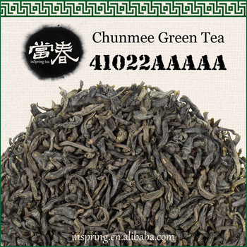 Chunmee green tea top 41022AAAAA