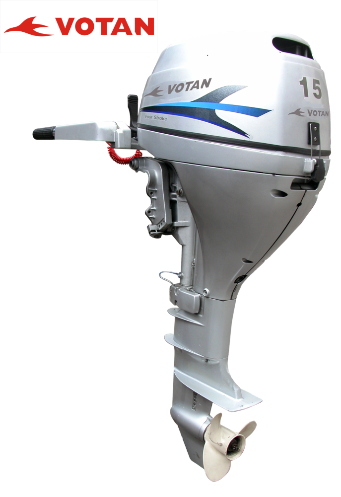 Votan 4 Stroken 15hp Outboard Motor For Sale In Boats