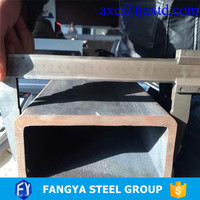 waterproof packing ! slotted square steel tube hot finished square hollow section