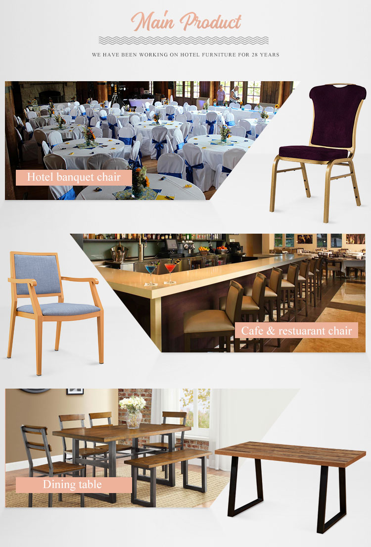 Foshan factory price fancy upholstery iron metal chrome hotel dinning banquet chairs with arms for sale