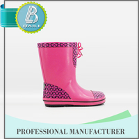 New Products Customised designs Rubber camo rain boots