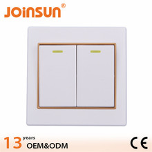 IP20 10000 times CE wall switch hidden camera