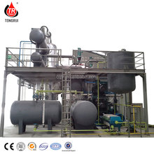 used engine oil to base oil decolor refining machine