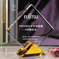 luxury new style clear crystal trophy crystal clear glass for souvenir gifts crystal trophy and award