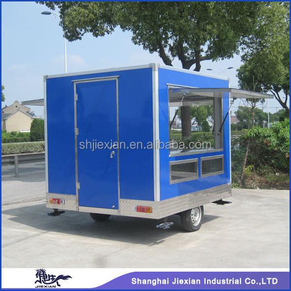 Commerical Mobile Electric Restaurant Hot Food Kiosk