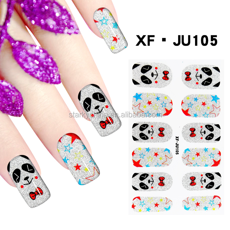 nail art designed 3d diamond artificial fingernails french art nail