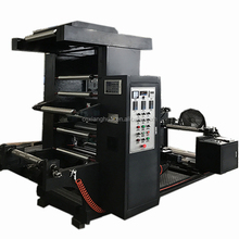 Newest Popular model YT series 2 colors professional flexo printing machines