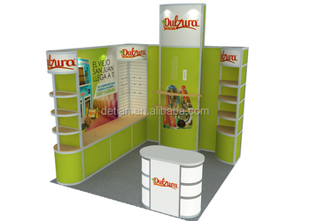 free design small size expo display portable trade show expo stands display