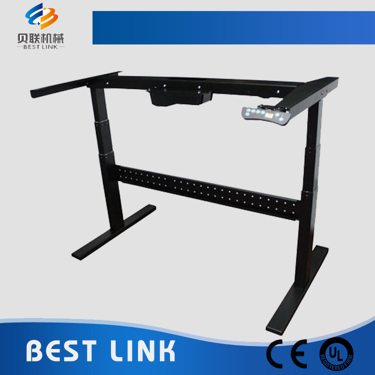 Electric Adjustable Height Desk with Two Motors