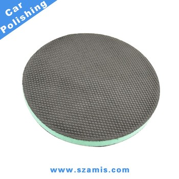 High Quality 6inch Medium Grade Clay Bar Pad Car Cleaning Sponge Glass Diamond Foam Polishing Pad