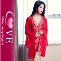 Alibaba Online Shopping Beautiful Girl Sexy Babydoll Nighties 3 Piece Set