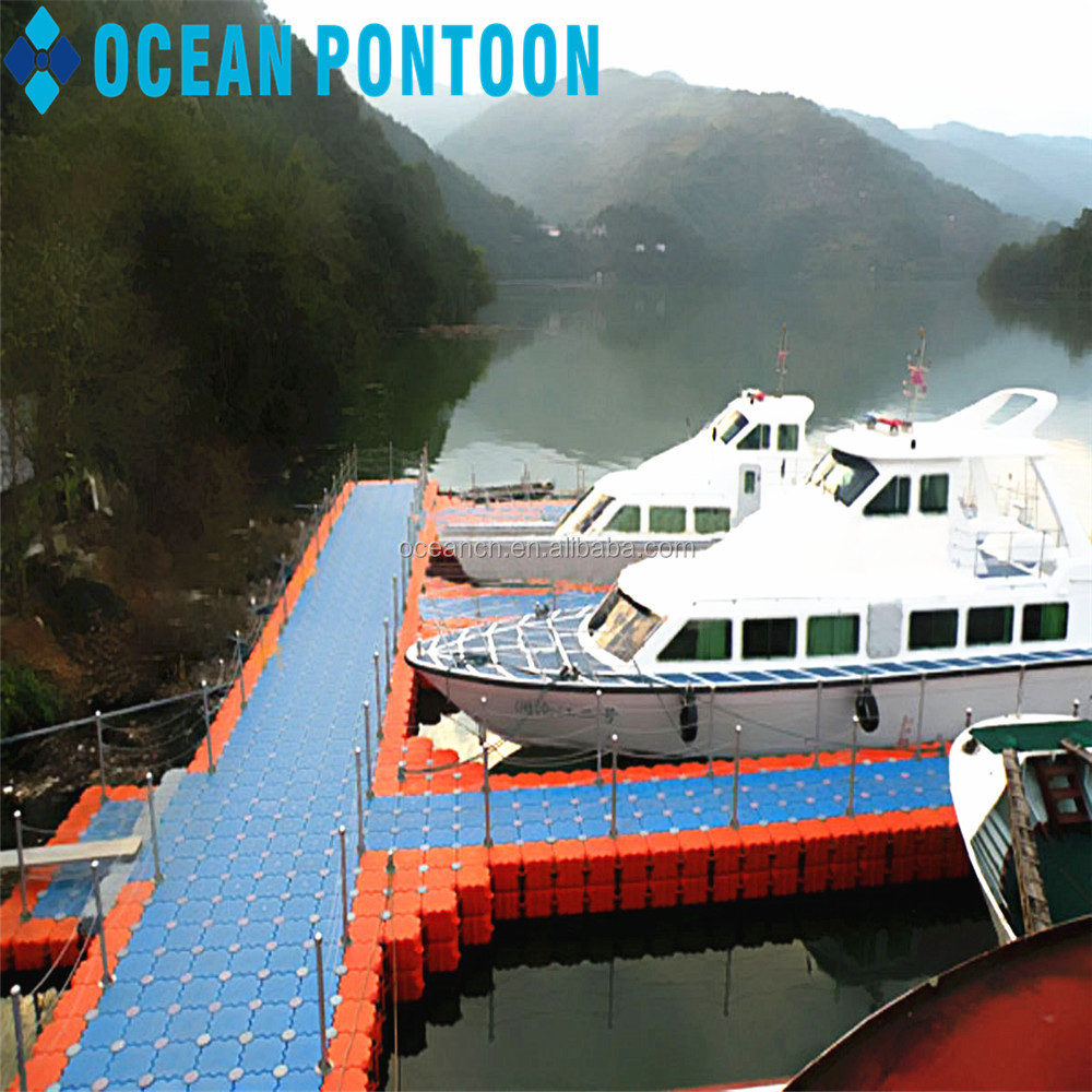 yacht floating dock pier floating plastic pontoon floating jetty