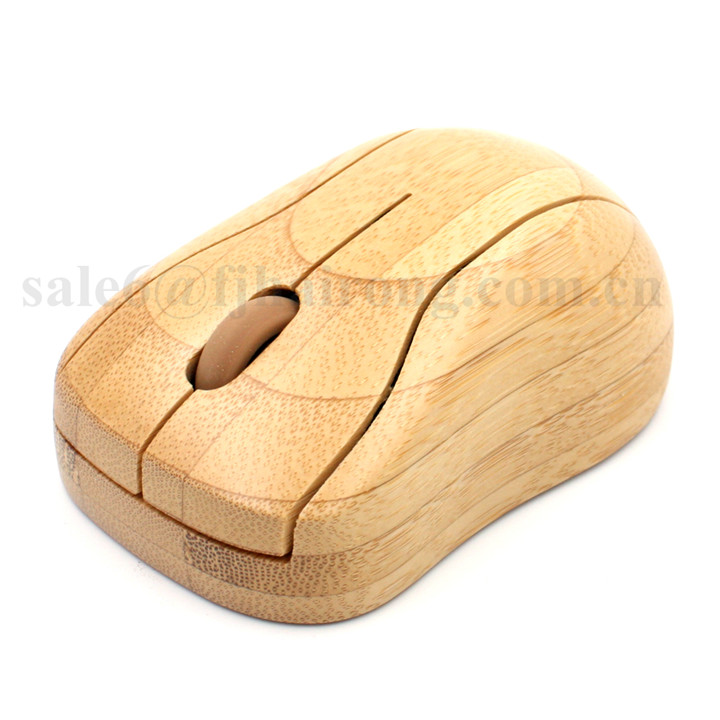 2017 trending product bamboo custom wireless computer mouse wireless transparent