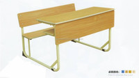 Sf-8001 School Furniture Student Furniture double siamese desks and chairs