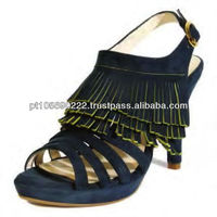 Shoes in leather Nobuk 9674