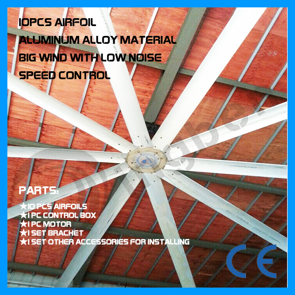 centrifugal large fan industries big ceiling fan 3.6m(12ft)