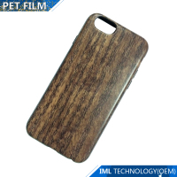 TPU wood phone case with the woodiness effect and colorful printing