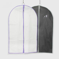 Zippered foldable garment suit bags