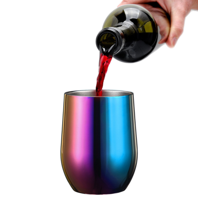 12oz 20oz 30oz High Quality Insulated Double Wall Stainless Steel wine tumbler wine <strong>cup</strong>