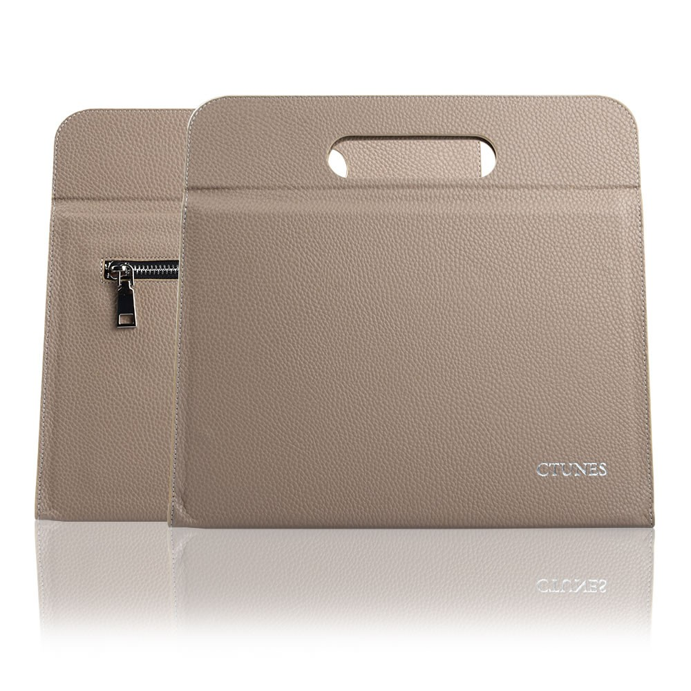 C&T Leather Bag Case Cover Clutch for Apple Ipad 2, 3, 4, 5 5th Generation, Air