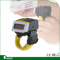 FS01 smallest Mini Android Bluetooth Ring style Barcode Scanner for hands free imager