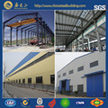 Painted and galvanized steel structure prefabricated warehouse building