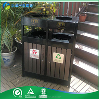 eco friendly powder coating rubbish bin