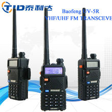 Baofeng uv5r walkie talkie made in china compact vhf car mobile radios