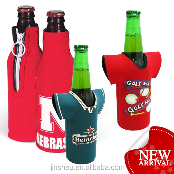 wholesale custom neoprene wine bottle cooler sleeve