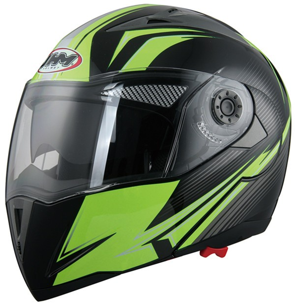 DOT approved motorbike motorcycle helmet with double visor