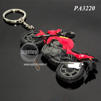 Soft PVC Motorcycle Keychain