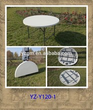 4 ft Plastic Folding Round Table for Event
