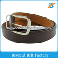 Men's Brown Color Faux PU Leather Belt in Embossed Pattern