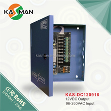 import china goods KASMAN KAS-DC120920 digital camera/ security camera 12v power supply with PFC function