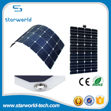100W Flexible Solar Panel for PV Module