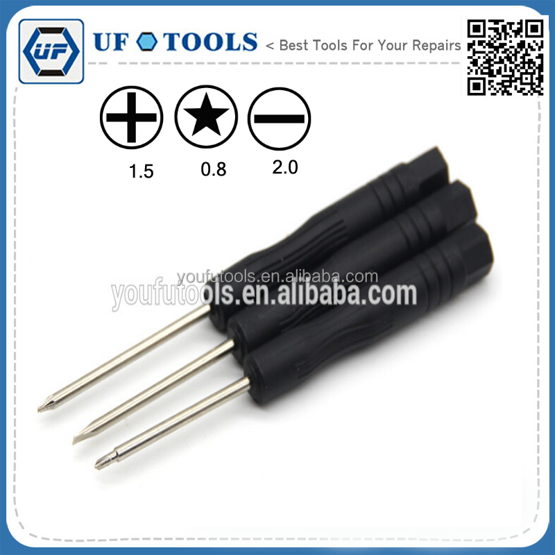 3pcs new Pentalobe <strong>mini</strong> 0.8 Star 1.2 1.5 Slot Slotted 1.0 1.2 1.5 2.0 phillips Cross 1.0 1.2 1.5 2.0 for iphone repair tool