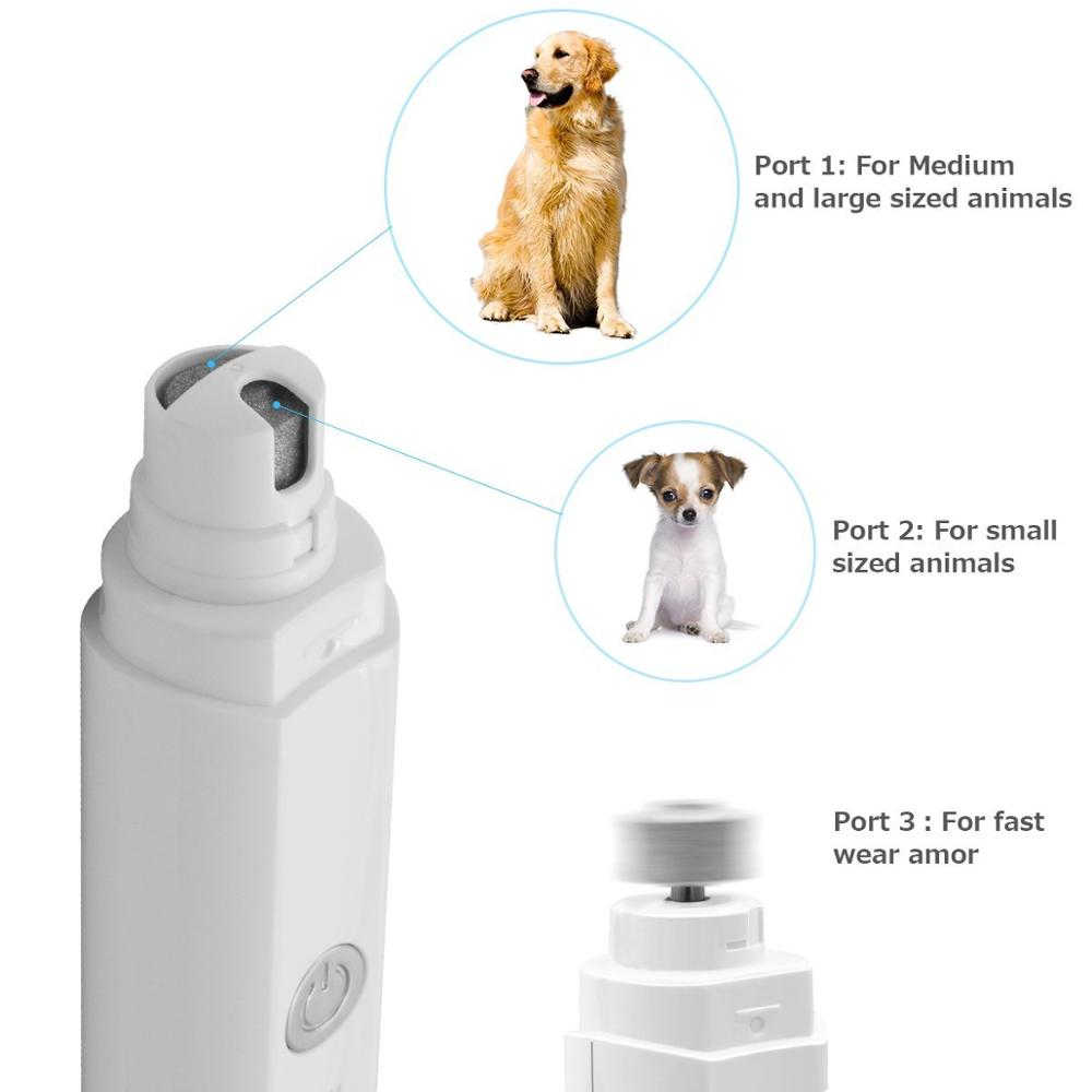 adjustable speed atuo electric pet nail grinder