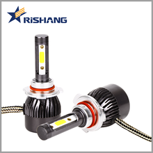 Shenzhen OEM factory made 40w 5000lm auto led light h4 h1 h3 h7 h11 hb3 hb4 h15 car headlight led replace 12v 55w halogen bulb
