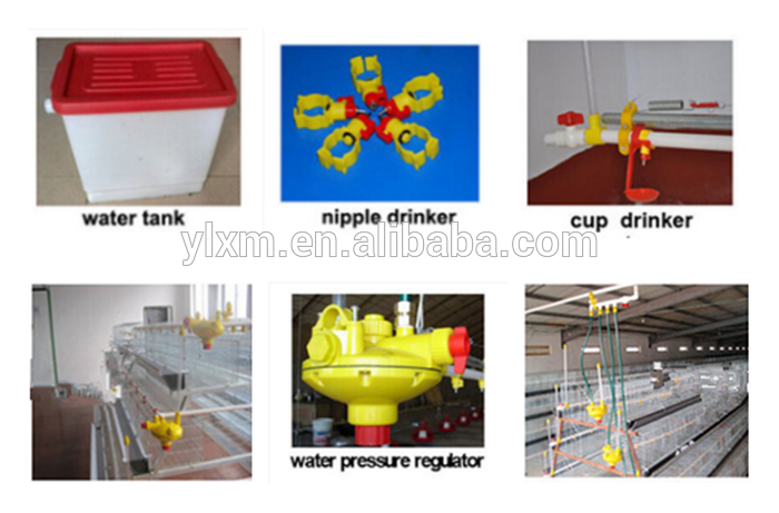 Modern farm use square water pipe automatic chicken poultry drink line