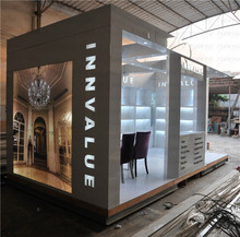 high class MDF Booth Design for tradeshow