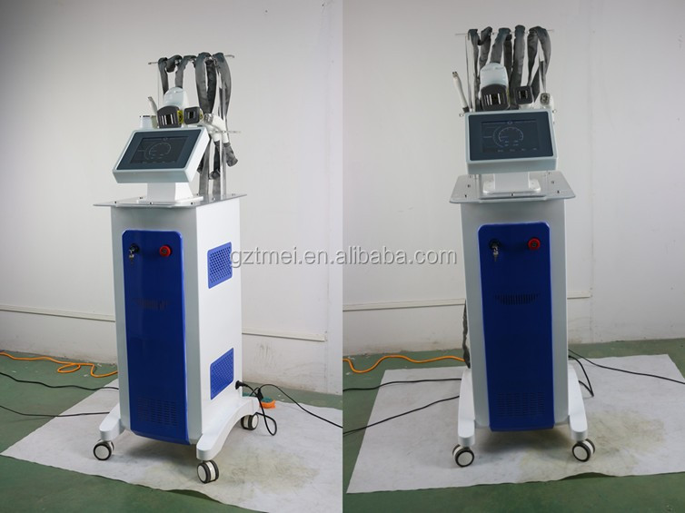 New valeshape RF +40 K cavitation + vacuum roller + IR slimming machine