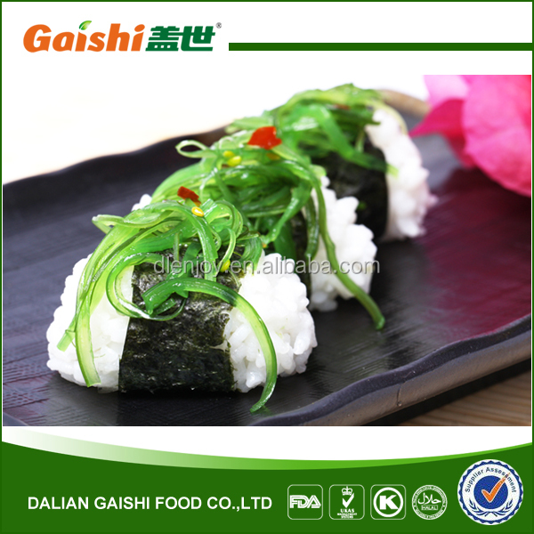 High Vitam frozen seasoned seaweed salad for japanese sushi food