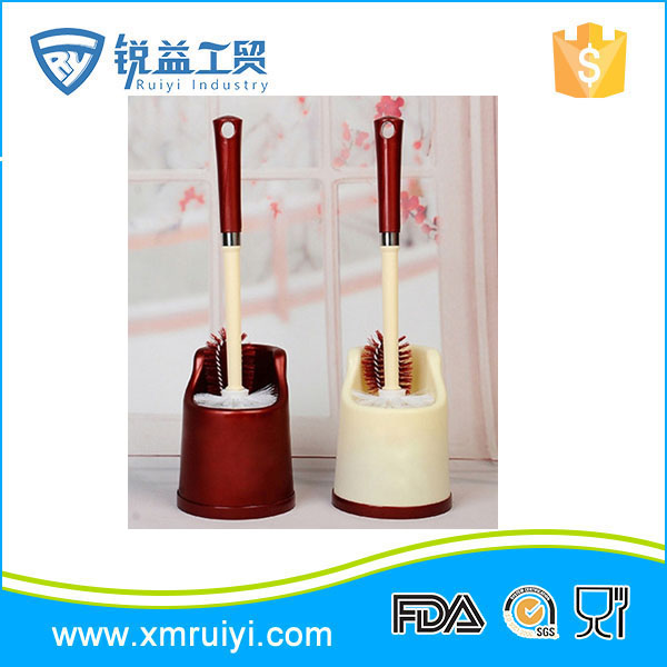 Good quality cheap colorful toilet hand rotary plastic brush