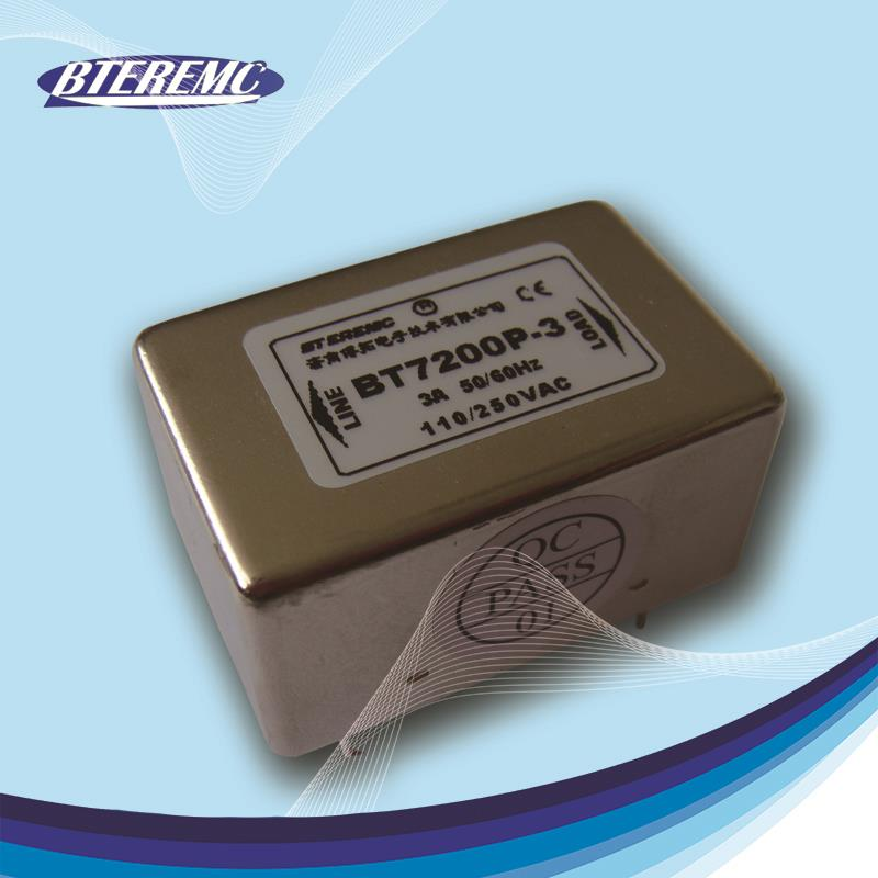 Professional pcb-mounting filters with CE certificate