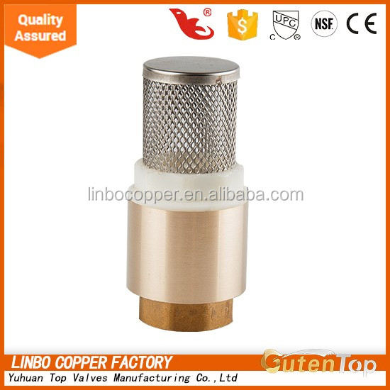 Gutentop Yuhuan Brass High Quality water meter check valve for compressed air