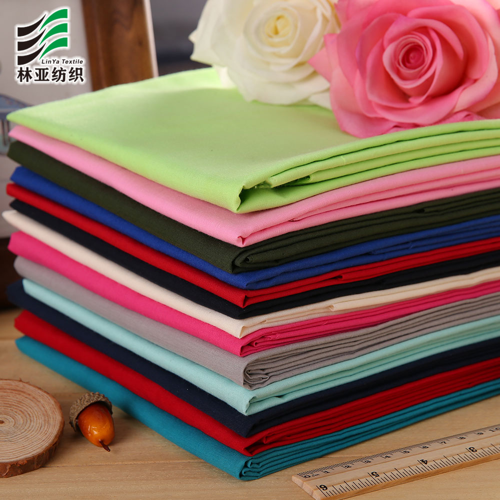 TC 45*45/96*72 dyed pocket lining fabric 1000 colors in stock